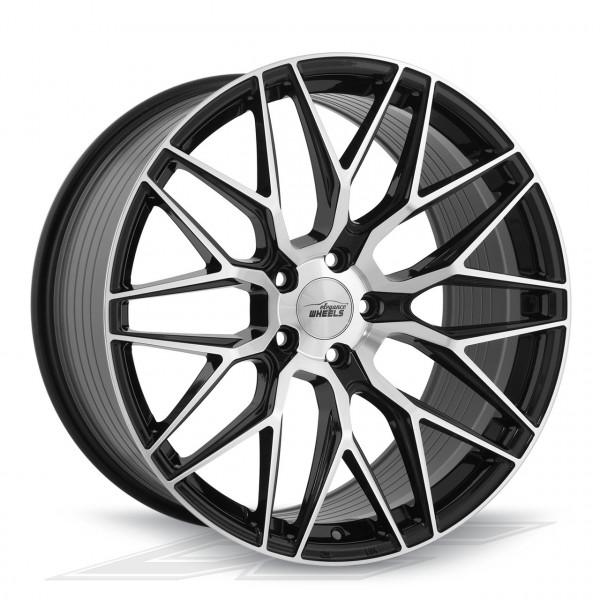 Elegance Wheels E3FF HighGloss Black/Polished | Concave + Deep Concave
