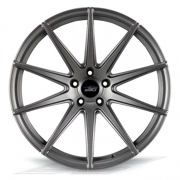 Elegance Wheels E1FF Matt Gunmetal | Concave + Deep Concave