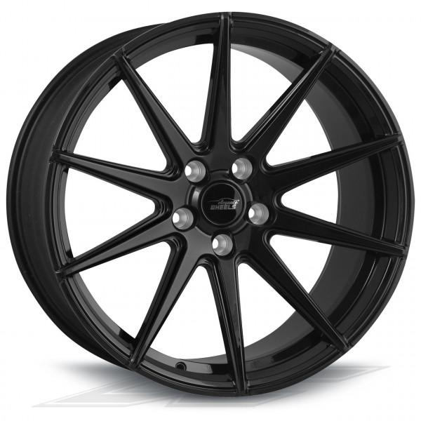 Elegance Wheels E1FF HiGloss Black | Concave + Deep Concave