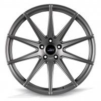 Elegance Wheels E1FF Matt Gunmetal   Concave + Deep Concave