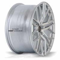 Elegance Wheels E2FF Hyper Silver | Concave + Deep Concave